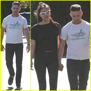 Shia LaBeouf: Holding Hands with Karolyn Pho!