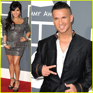 Snooki: Grammys 2011 Red Carpet with The Situation!
