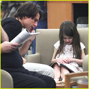 Tom Cruise to Suri: Let's Read at the Library!