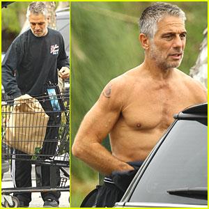 Tony Danza Goes Shirtless Before Shopping