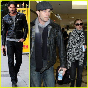 'True Blood' Cast Hits Los Angeles