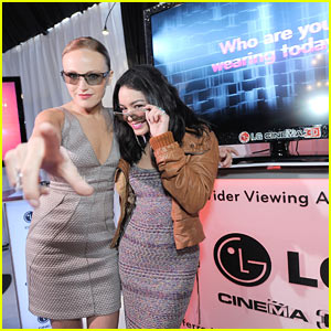 Vanessa Hudgens: Spirit Awards with Malin Akerman!