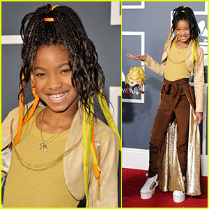 Willow Smith - Grammys 2011 Red Carpet