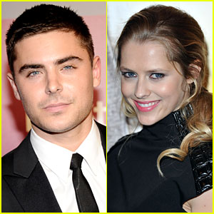 Zac Efron: Night Out with Teresa Palmer!