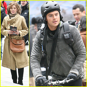 Zac Efron Takes a Ride with Michelle Pfeiffer
