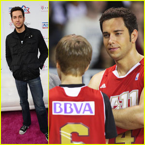 Zachary Levi: All-Star Weekend Warrior