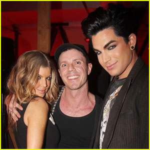 Adam Lambert: Jake Shears Chrome Hearts Dinner!