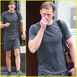 Alexander Skarsgard: West Hollywood Workout