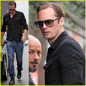 Alexander Skarsgard: Joan's on Third Coffee Stop