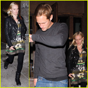 Alexander Skarsgard & Kate Bosworth: Sushi Dinner Date!