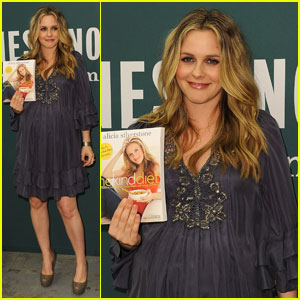 Alicia Silverstone: 'The Kind Diet' Book Signing!