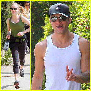 Amanda Seyfried & Ryan Phillippe: Peace Run