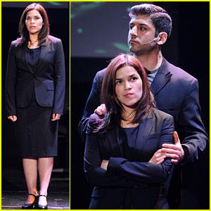 America Ferrera: 24 Hour Musicals on Broadway!