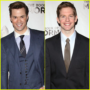 Andrew Rannells & Rory O'Malley: 'Book of Mormon' Opening!
