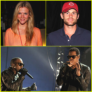 Andy Roddick & Brooklyn Decker: SXSW Concert in Austin!