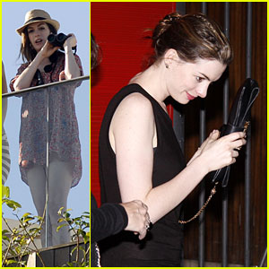 Anne Hathaway Enjoys Some R&R in Rio