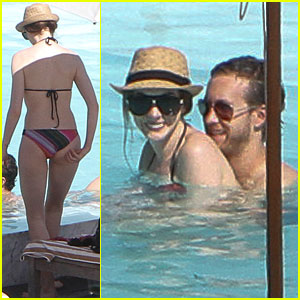 Anne Hathaway: Bikini Babe in Rio!