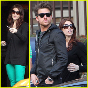 Ashley Greene & Jared Followill: St. Patrick's Day Drinks!
