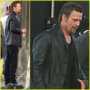 Brad Pitt: 'Cogan's Trade' Set!