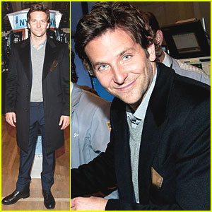 Bradley Cooper Visits New York Stock Exchange