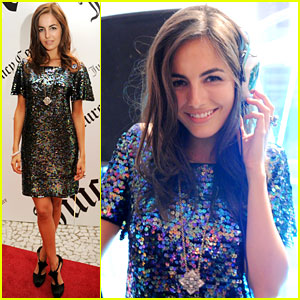 Camilla Belle: Juicy Couture DJ!