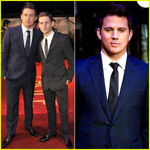 Channing Tatum: 'The Eagle' London Premiere with Jamie Bell!