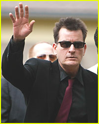Charlie Sheen Meets with FOX Executives