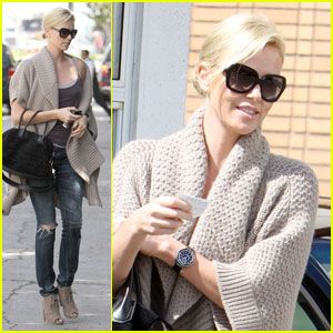 Charlize Theron: Filming 'Mad Max' in 2012