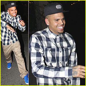 Chris Brown: Blue Shoes at Maggiano's