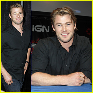 Chris Hemsworth: Chicago Comic & Entertainment Expo Q&A!