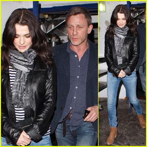 Daniel Craig & Rachel Weisz: Little Door Duo