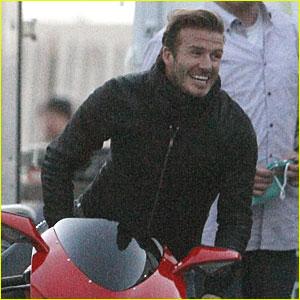David Beckham: Motorcycle Man