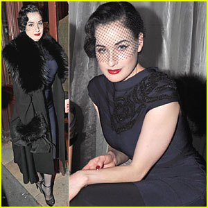 Dita Von Teese: After Party with Louis Marie!