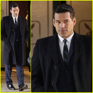 Eddie Cibrian: 'Playboy' Pilot Shoot!