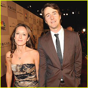 Edward Norton: Engaged to Shauna Robertson?