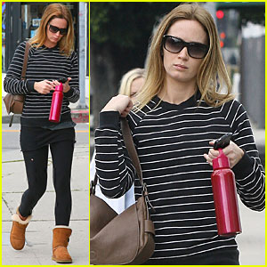 Emily Blunt: Going Blonde for 'Looper'
