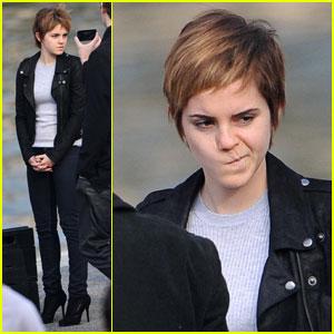 Emma Watson: Leathered For Lancome