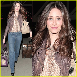 Emmy Rossum: 'Shameless' Traveling