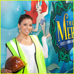 Eva Longoria: Birthday at Disneyland!