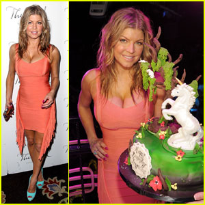 Fergie: Birthday Bash at Bellagio's Bank!