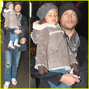 Gabriel Aubry & Nahla Head to the Hotel