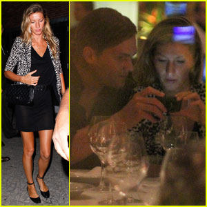 Gisele Bundchen & Tom Brady: Dinner Date at Gero