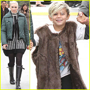 Gwen Stefani: Kingston Rocks Fur Vest