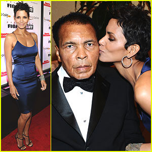 Halle Berry: Muhammad Ali's Celebrity Fight Night!