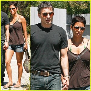 Halle Berry & Olivier Martinez: Seafood Lovers!