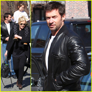 Hugh Jackman Cabs It Family Style!