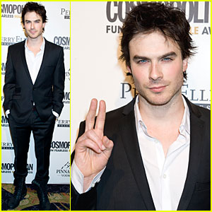 Ian Somerhalder: Cosmopolitan Fun Fearless Male Awards!