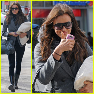 Irina Shayk: Swimsuit Model in Manhattan