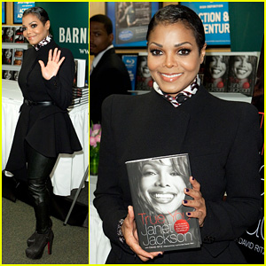 Janet Jackson: 'True You' Barnes & Noble Book Signing!