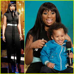 Jennifer Hudson: 'The View' with David Jr!